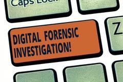 Ricerca legale di Digital del testo della scrittura Ricupero di informazioni di significato di concetto dall'intenzione di chiave fotografia stock libera da diritti