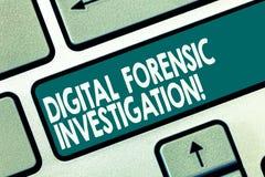 Ricerca legale di Digital del testo di scrittura di parola Concetto di affari per il ricupero di informazioni dalla chiave di tas fotografia stock libera da diritti