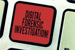 Ricerca legale di Digital del testo di scrittura di parola Concetto di affari per il ricupero di informazioni dalla tastiera di c immagini stock