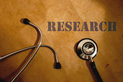 Ricerca medica Fotografie Stock
