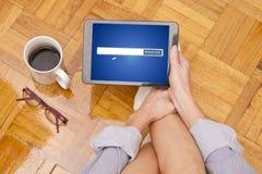 Ricerca online Immagini Stock