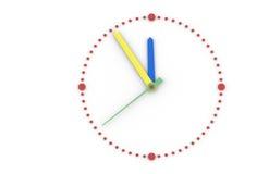 Ricerca, salvare tempo. illustrazione di stock