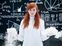 Ricerche sperimentali di laboratorio Immagine Stock Libera da Diritti