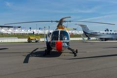 Ricerchi il centro aerospaziale tedesco DLR - Eurocopter BO 105 dell'elicottero fotografie stock