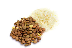 RiceRice and lentil Stock Image