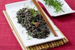 ricetioarmad bläckfisk royaltyfri fotografi