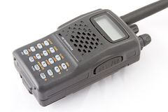 Ricetrasmettitore radiofonico di FM (con il percorso di residuo della potatura meccanica) Immagine Stock Libera da Diritti