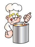 Ricetta del cuoco unico Fotografia Stock Libera da Diritti