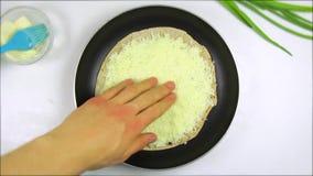 Ricetta semplice e rapida di quesadille del formaggio archivi video