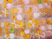Ricette tailandesi del dessert Immagine Stock Libera da Diritti