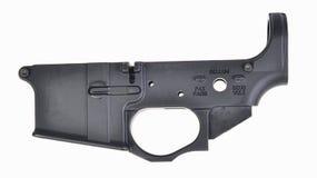 Ricevitore più basso spogliato AR15 Immagini Stock