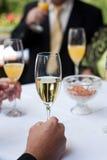 Ricezione di Champagne Fotografie Stock