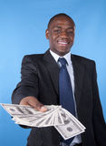 Rich african businessman Royalty Free Stock Photos