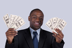 Rich african businessman Stock Image