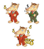 Rich Ant Eater Mascot Images stock