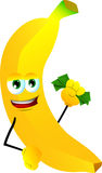 Rich banana Stock Photo