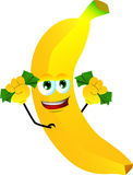 Rich banana Stock Image