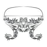 Rich Baroque Rococo chair Stock Photo