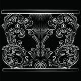 Rich Baroque Table illustrazione vettoriale