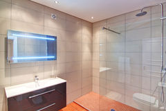 Rich bathroom. Stock Images