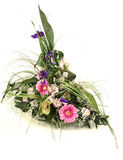 Rich and beautiful bouquet of different flowers Royalty Free Stock Photo