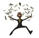 Rich black businessman Royalty Free Stock Photo