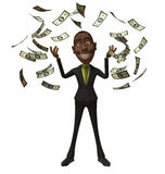 Rich black businessman Royalty Free Stock Photography