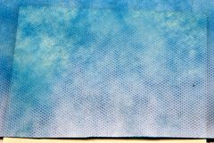 Rich-blue nano-textile with pattern Royalty Free Stock Photo