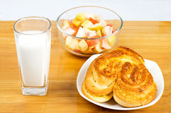 Rich breakfast Royalty Free Stock Images