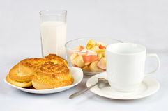 Rich breakfast Stock Photos