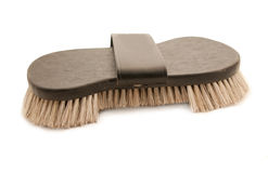 Rich brush with natural bristle for horse Royalty Free Stock Photos