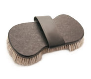 Rich brush with natural bristle for horse Royalty Free Stock Images