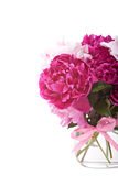 Rich bunch of peonies Royalty Free Stock Photos