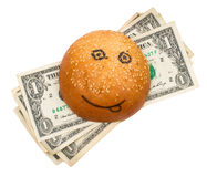 Rich burger Royalty Free Stock Photography