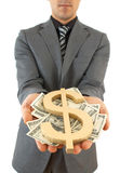 Rich business Stock Photo