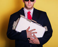 Rich business man Royalty Free Stock Images