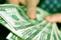 Rich businessman Stock Images