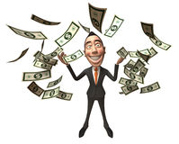 Rich businessman Stock Photos