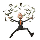 Rich businessman Stock Photo