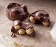 Rich chocolate candy Royalty Free Stock Image