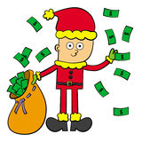 Rich in Christmas Stock Images