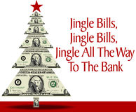Rich Christmas royalty free illustration