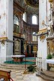 Rich church interior Royalty Free Stock Photo