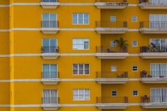 Rich Colorful Building en Costa Rica image stock