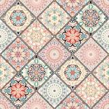 Rich Colorful Tile Ornament Immagine Stock Libera da Diritti