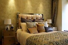 Trendy bedroom Royalty Free Stock Image