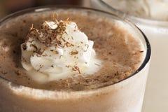 Rich and Creamy Chocolate Milkshake Royalty Free Stock Photos