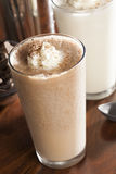 Rich and Creamy Chocolate Milkshake Royalty Free Stock Photo