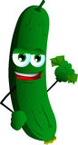 Rich cucumber or pickle Stock Image