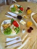 Image of traditional turkish breakfast. stock photo